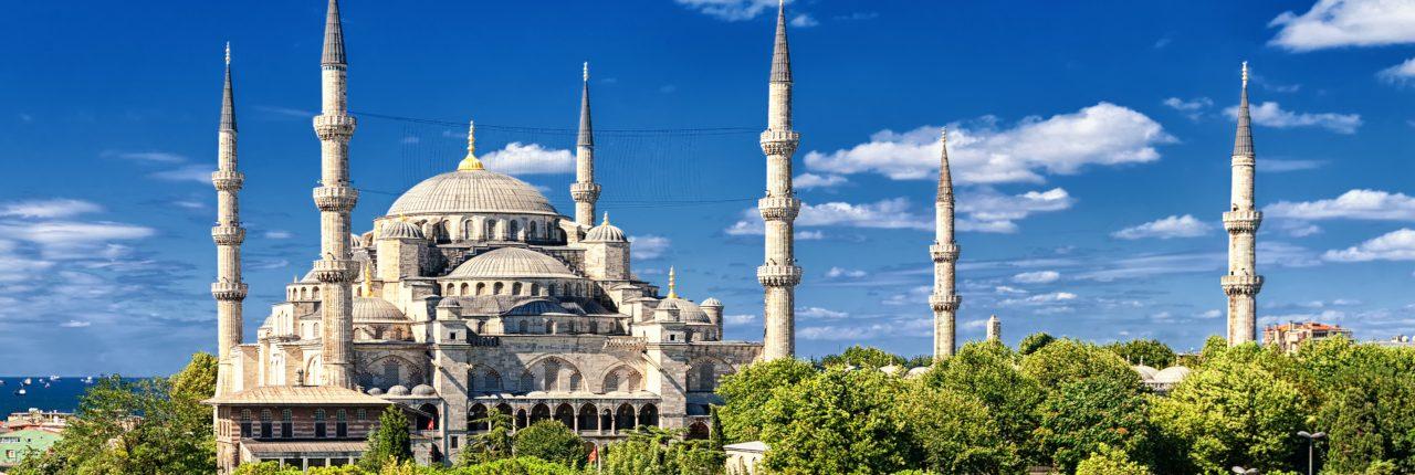 Moschee în Turcia Istanbul Paște 2021