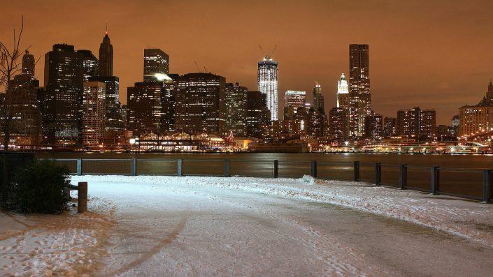 New York noaptea, America