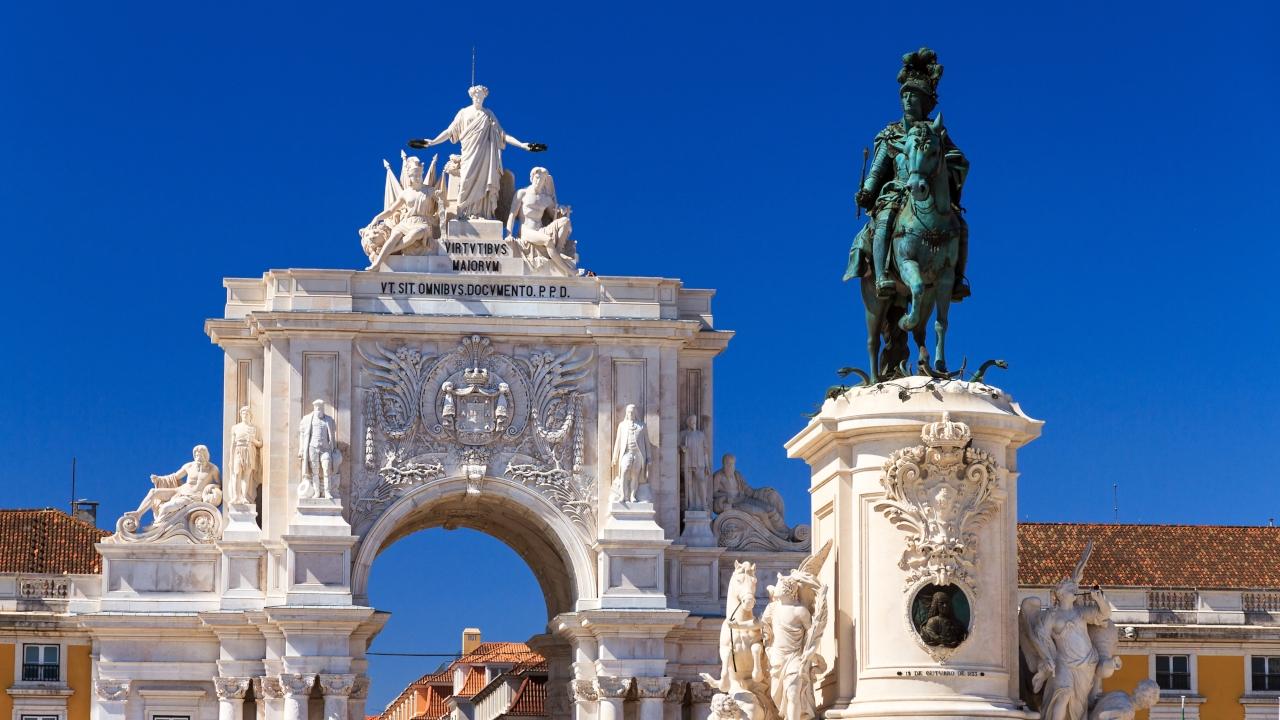 Statuia King Jose Lisabona, Sărbători de iarnă