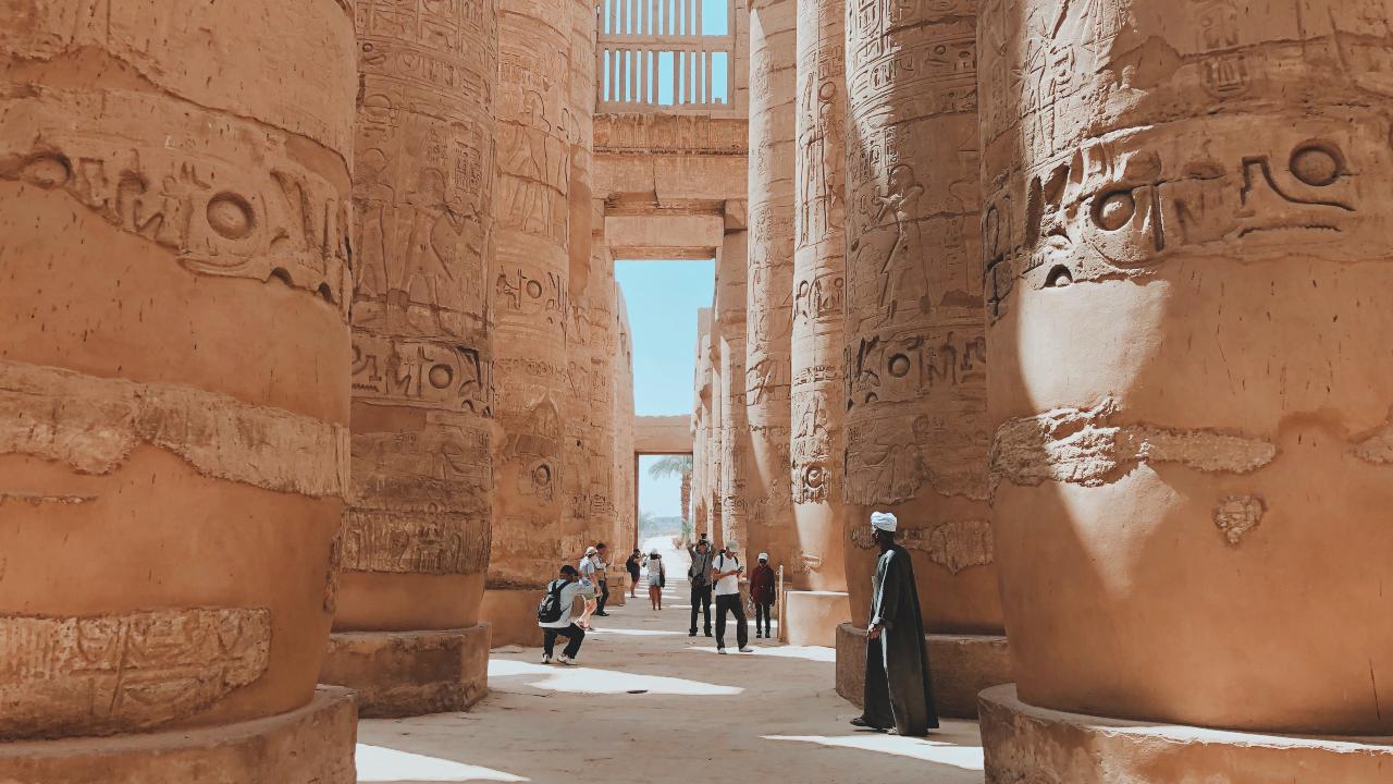 Templul Karnak Egipt