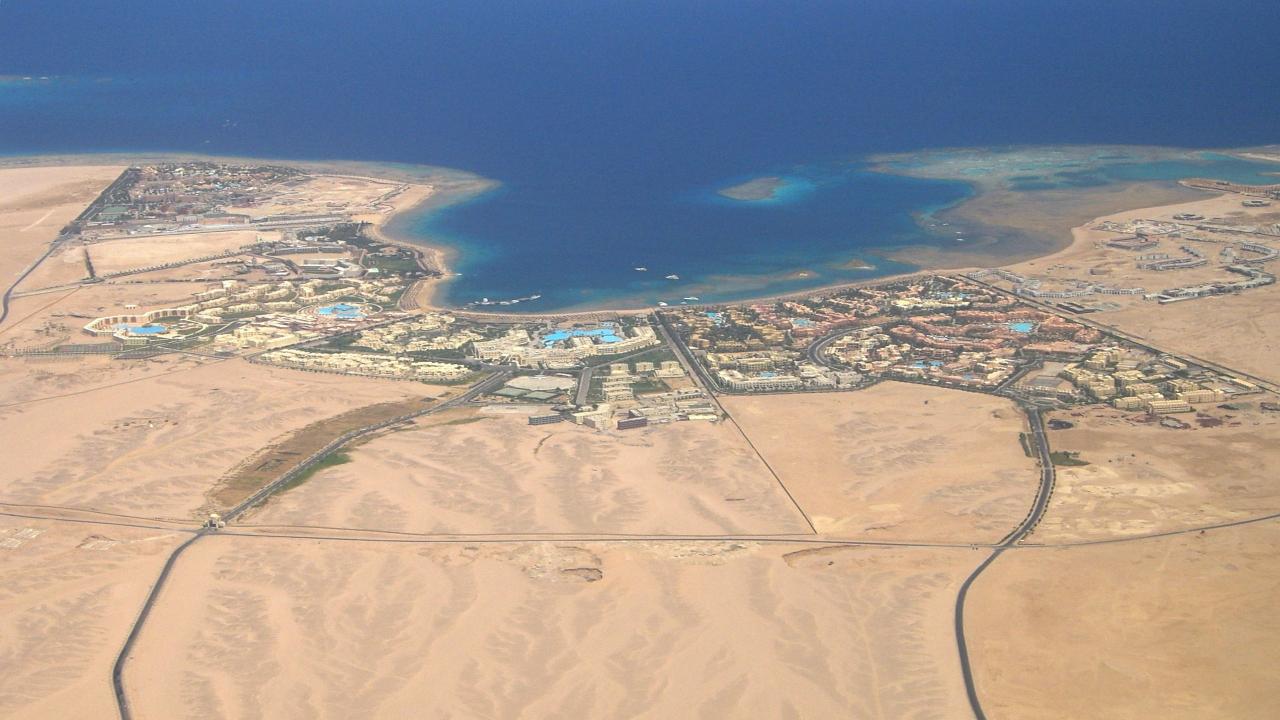 Hurghada vedere de sus, cairo minisejur hurghada