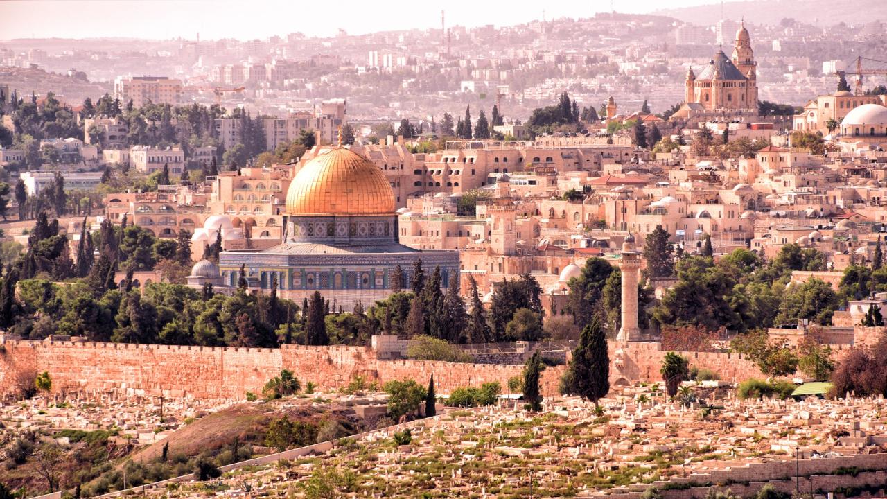 Ierusalim Israel Craciun