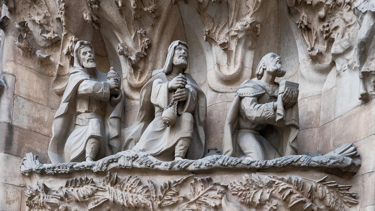 Sagrada Familia Barcelona Spania