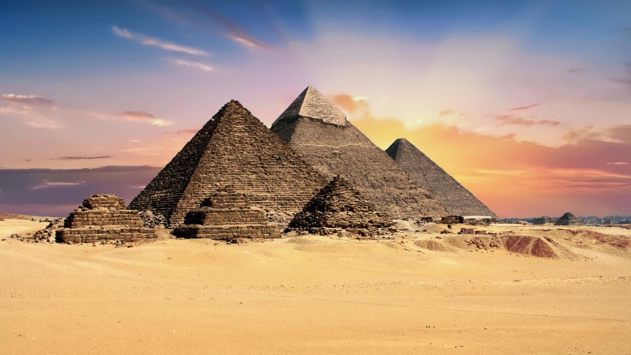 Giza piramide