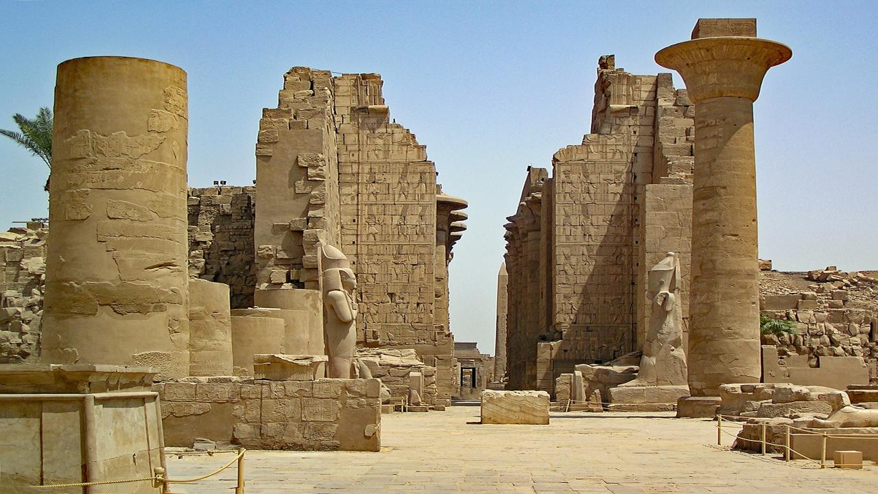 Templul Karnak, Croazieră pe Nil Paște