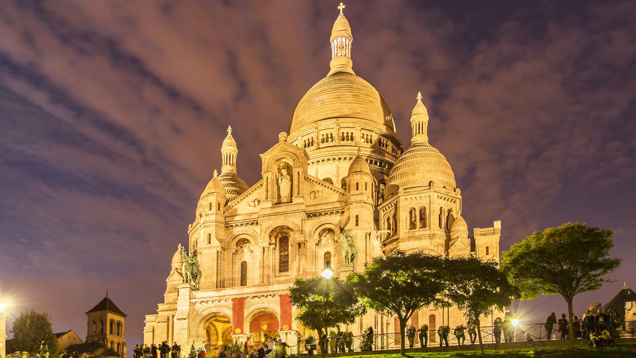 Basilica Sacre Coeur Paris, City Break Paris