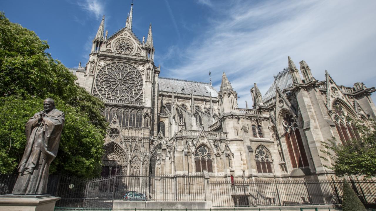 Catedrala Notre Dame Paris, City Break Paris, Paris Paște 2020