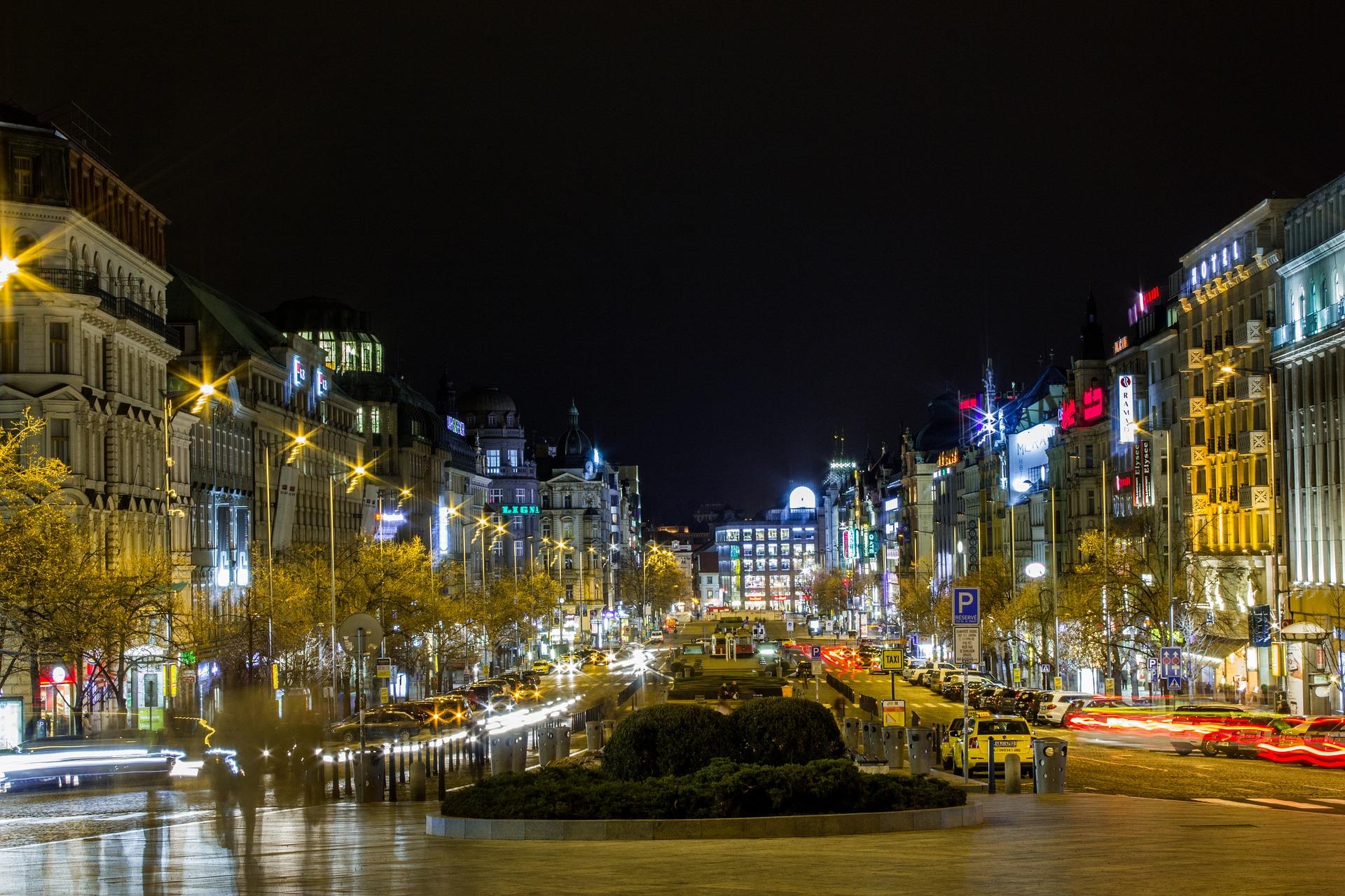 Piața Weceslas excursie Praga Revelion 2020