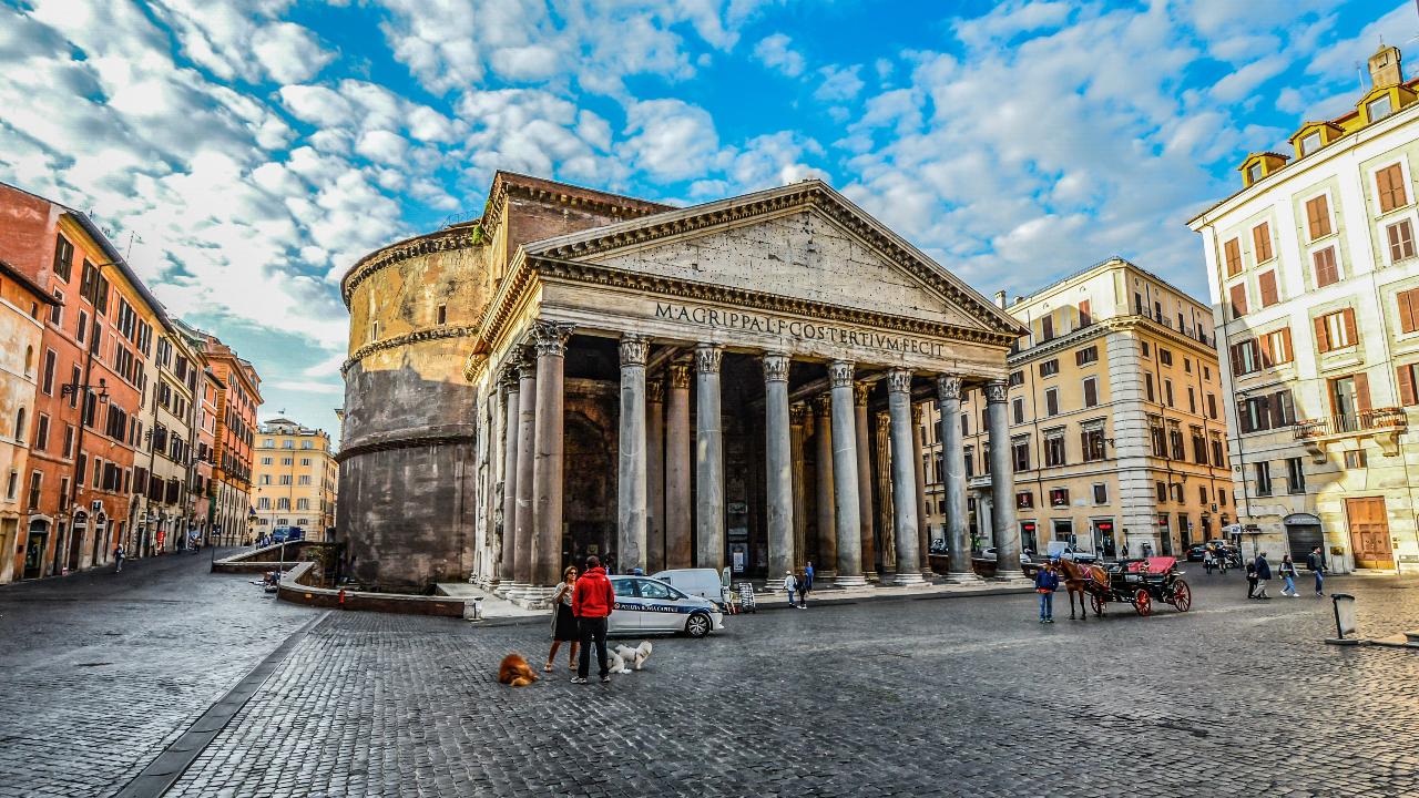 Roma paste 2020