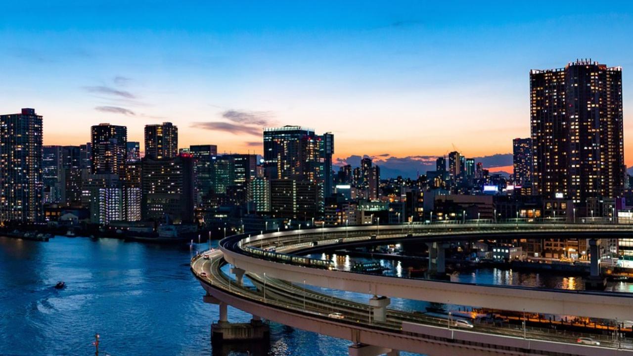 Tokyo Rainbow Bridge, circuit Japonia 2020
