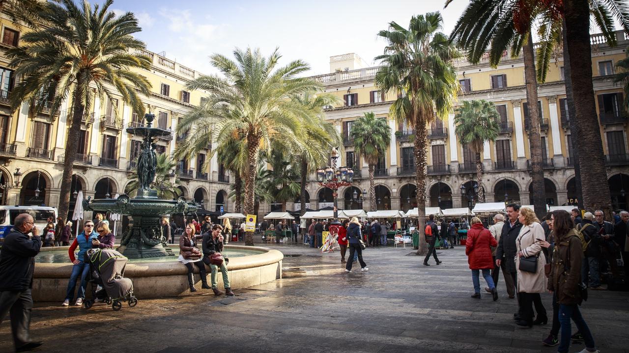 Barcelona Paște 2020 piață