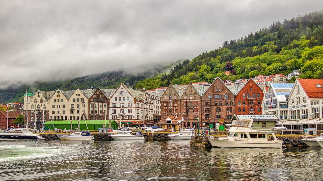 bergen Scandinavia Capitale și Fiorduri