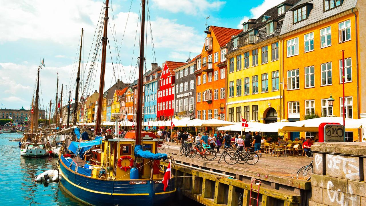 copenhaga Scandinavia Capitale și Fiorduri