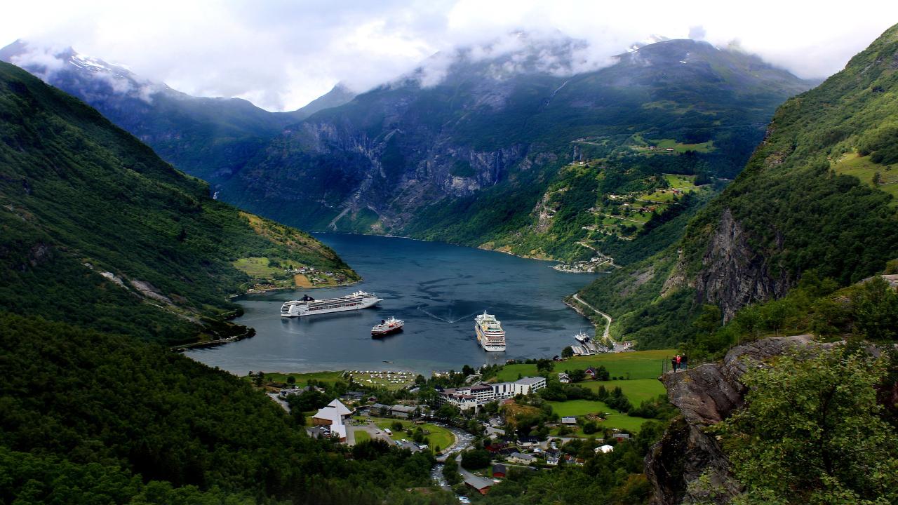 geiranger Scandinavia Capitale și Fiorduri