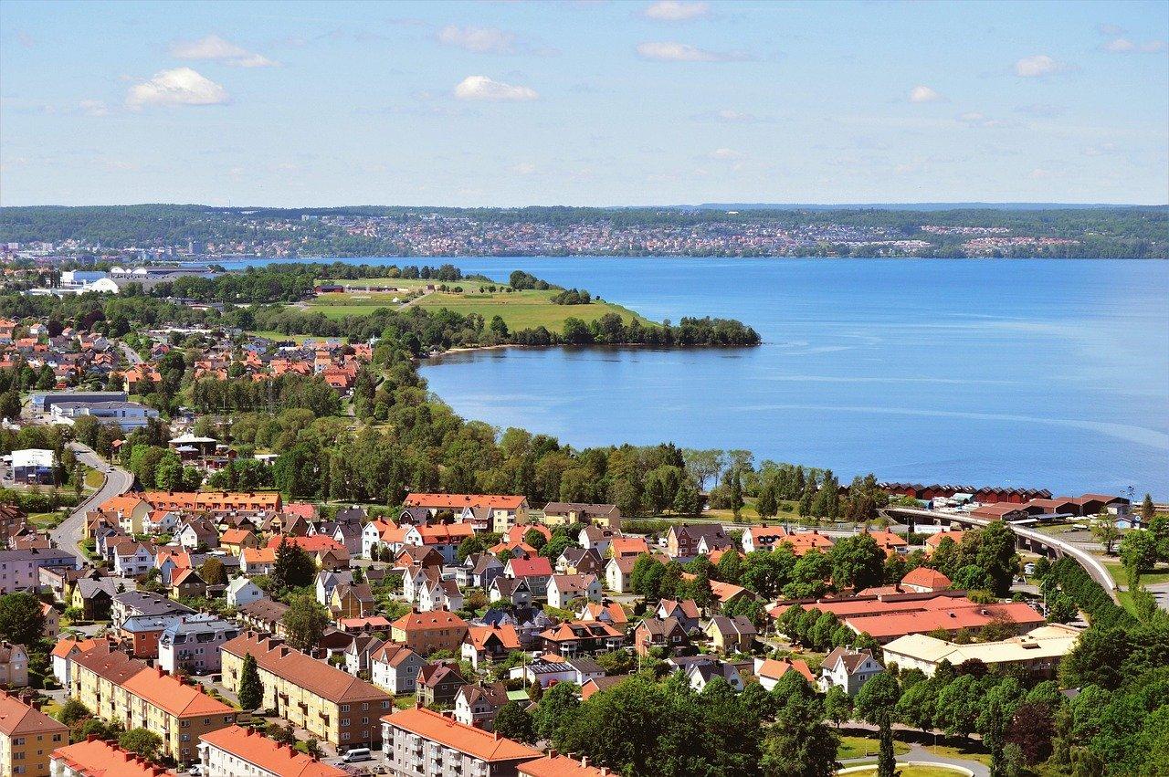 Lacul Vattern, Suedia