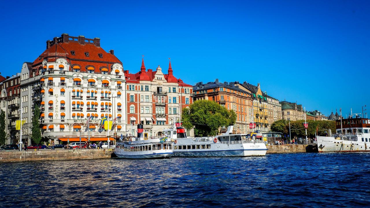 stockholm Scandinavia Capitale și Fiorduri