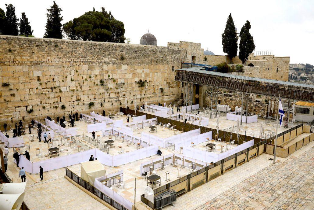 Western Wall, Covid 19, Israel