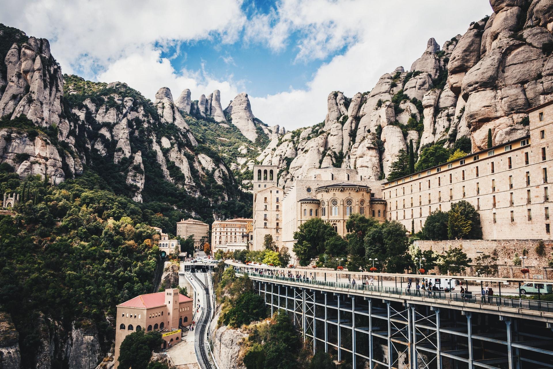 Monestir de Montserrat, Spania