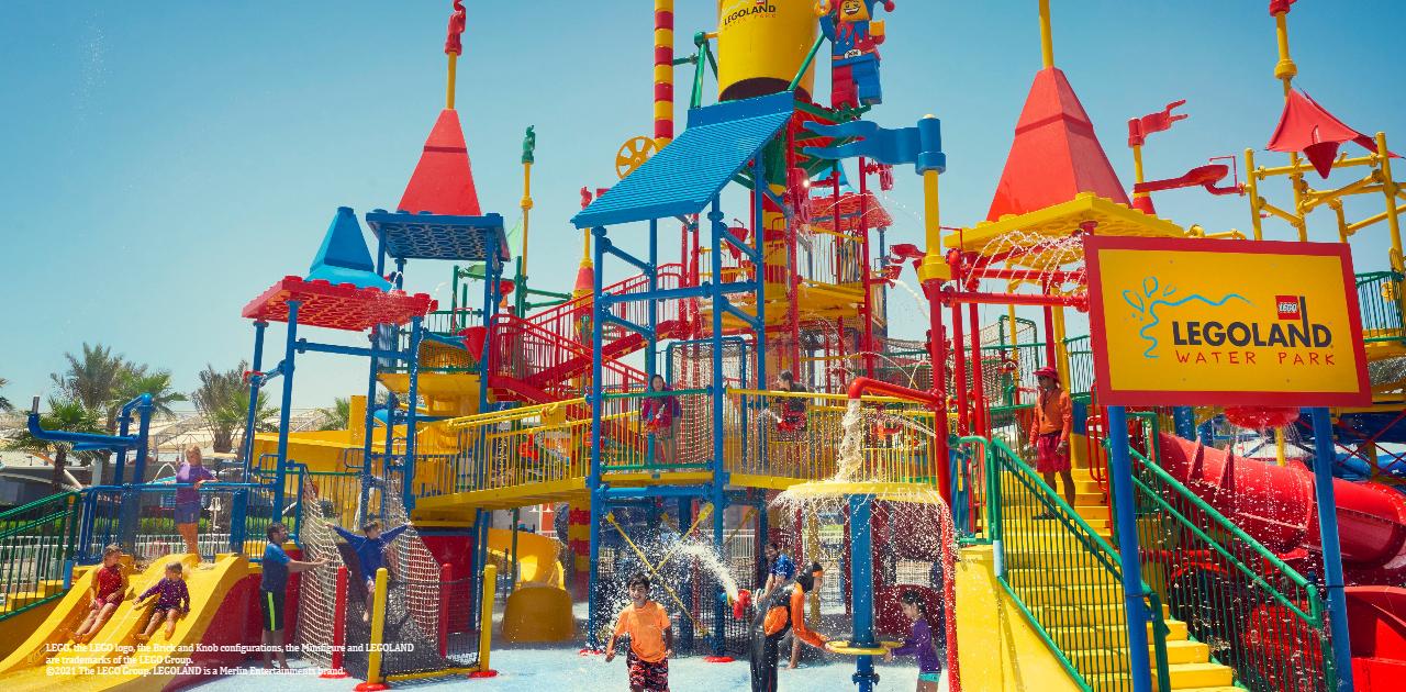 Dubai Lego Water Park Joker Soaker lower 1
