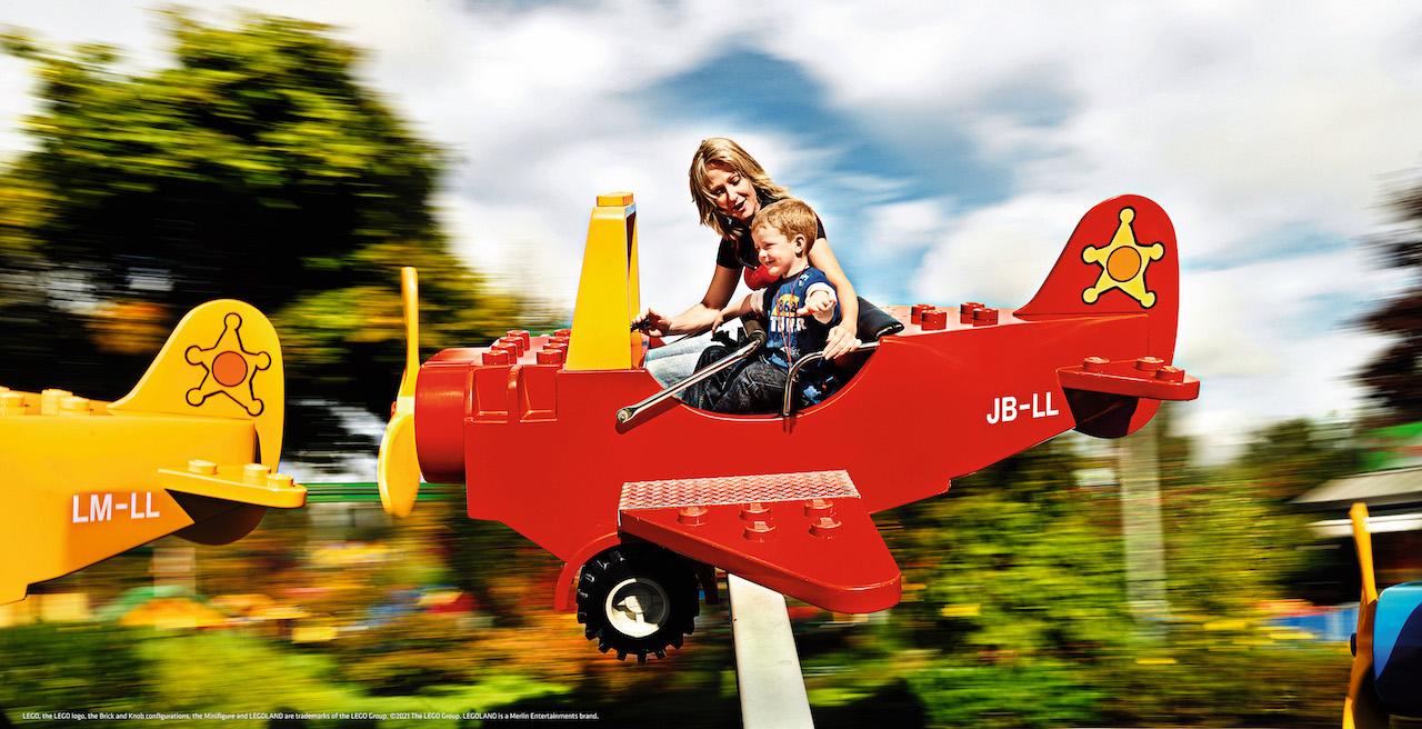 LEGO City Airport boy mom