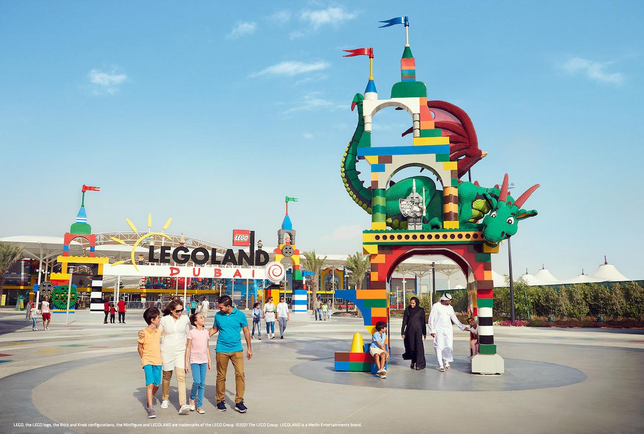 LEGOLAND Dubai Entrance