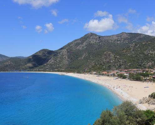 fethiye turcia plaja